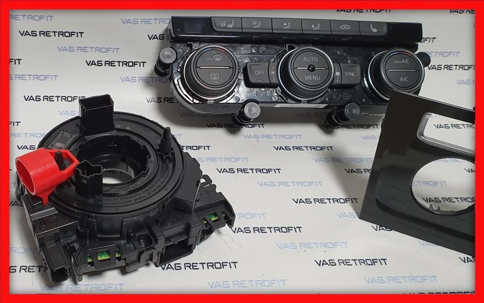 Poza - KIT Incalzire Volan VW Golf 7 VII Panou Climatronic Rama Adaptoare Spira Volan