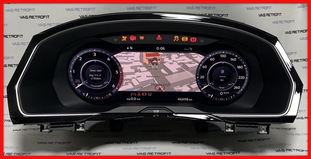Poza 2 - Ceasuri LED Passat B8 3G Ceas Bord Digital AID 3G0920791B 3G0 920 791 B