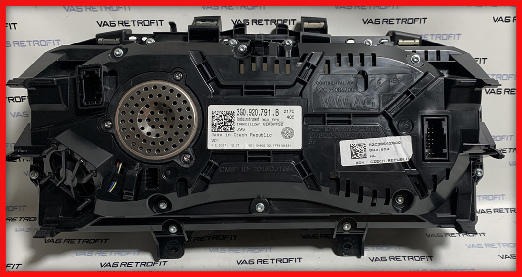Poza 7 - Ceasuri LED Passat B8 3G Ceas Bord Digital AID 3G0920791B 3G0 920 791 B