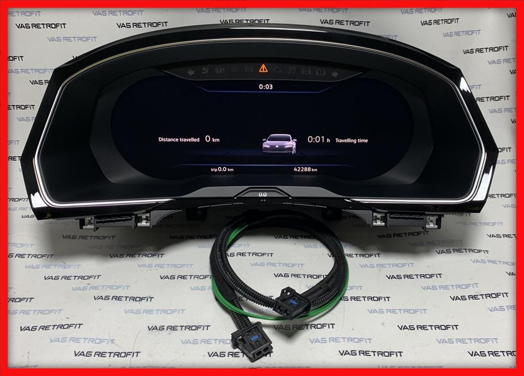 Poza 3 - Ceasuri Bord Arteon Passat B8 3G Active Info Virtual Cockpit AID 3G0920791