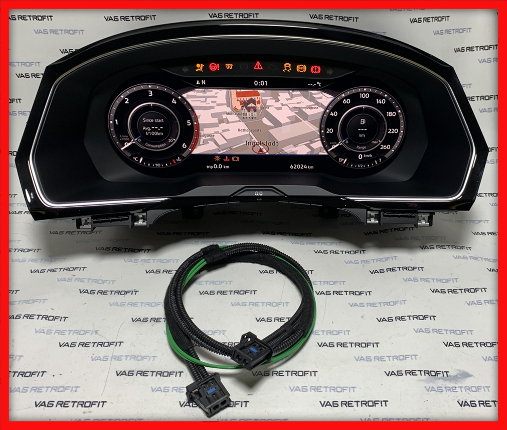Poza 3 - Ceasuri Plasma Passat B8 3G 3G0920791B Active Info Display AID Cockpit