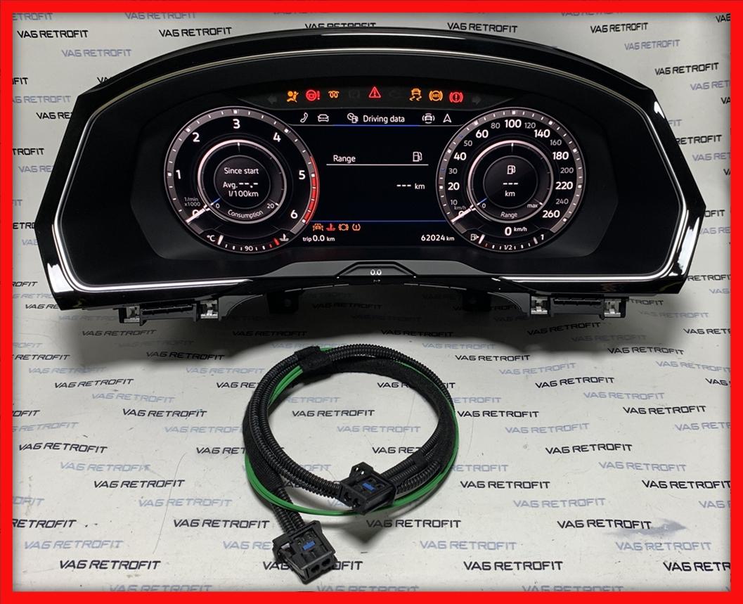Poza 2 - Ceasuri Plasma Passat B8 3G 3G0920791B Active Info Display AID Cockpit