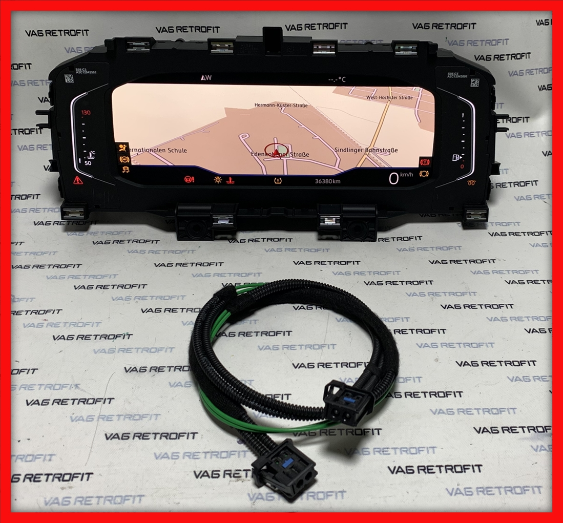 Poza - Ceasuri LED Digitale VW POLO VI 2G AW Virtual Cockpit AID 2G0920790