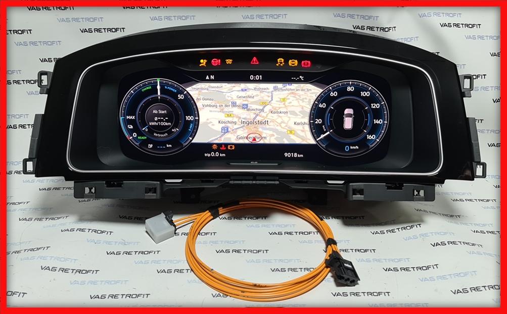 Poza 2 - Ceasuri Digitale VW Golf 7 VII 5G1920795A / 5G1 920 795 A Virtual Cockpit AID
