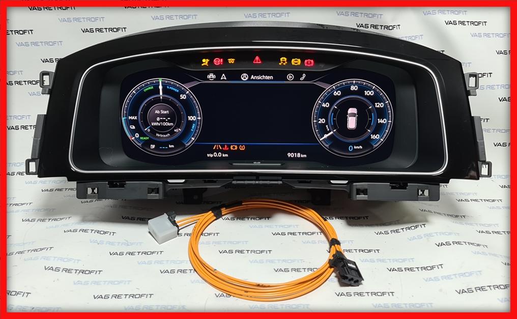Poza 3 - Ceasuri Digitale VW Golf 7 VII 5G1920795A / 5G1 920 795 A Virtual Cockpit AID