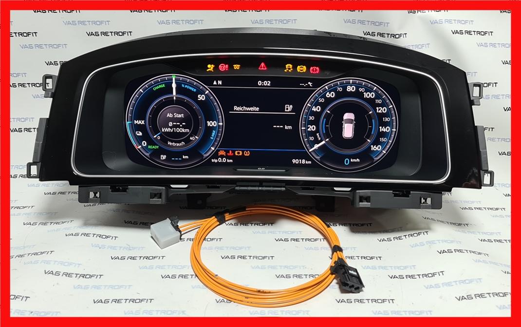 Poza 5 - Ceasuri Digitale VW Golf 7 VII 5G1920795A / 5G1 920 795 A Virtual Cockpit AID