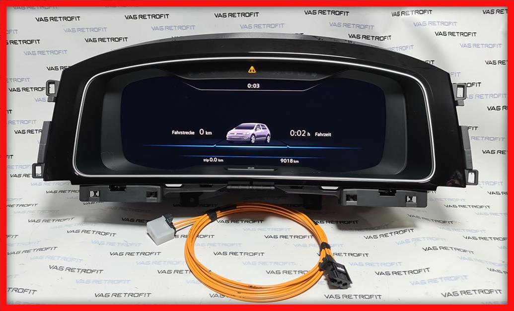 Poza 6 - Ceasuri Digitale VW Golf 7 VII 5G1920795A / 5G1 920 795 A Virtual Cockpit AID