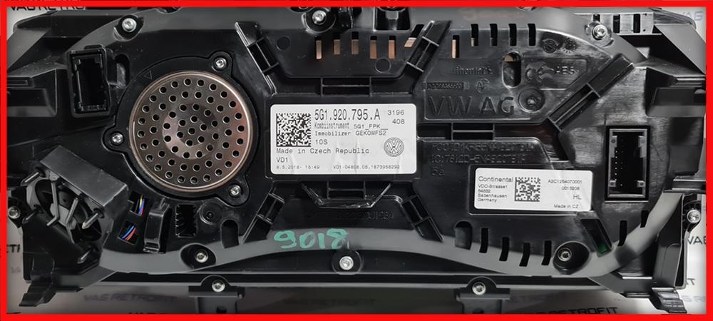 Poza 7 - Ceasuri Digitale VW Golf 7 VII 5G1920795A / 5G1 920 795 A Virtual Cockpit AID