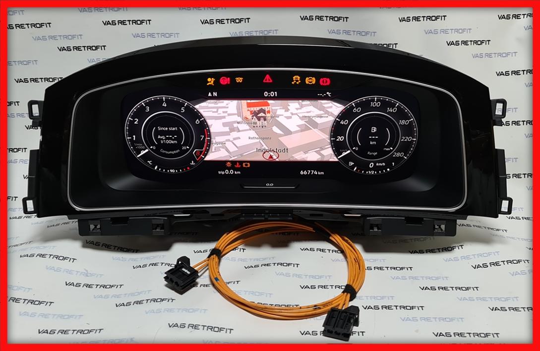 Poza 2 - Ceasuri Bord Golf 7 VII 5G1920791B 5G1 920 791 B Digitale Virtual Cockpit AID