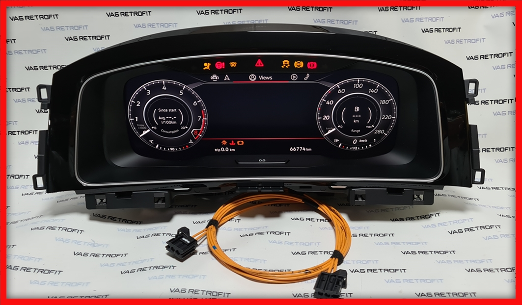 Poza 3 - Ceasuri Bord Golf 7 VII 5G1920791B 5G1 920 791 B Digitale Virtual Cockpit AID