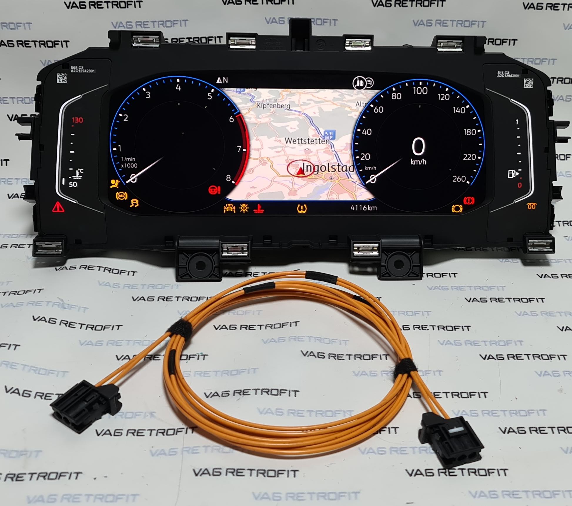 Poza 3 - Ceasuri Bord Digitale VW POLO 2G AW1 GTI T-Cross 2G0920790B / 2G0 920 790 B