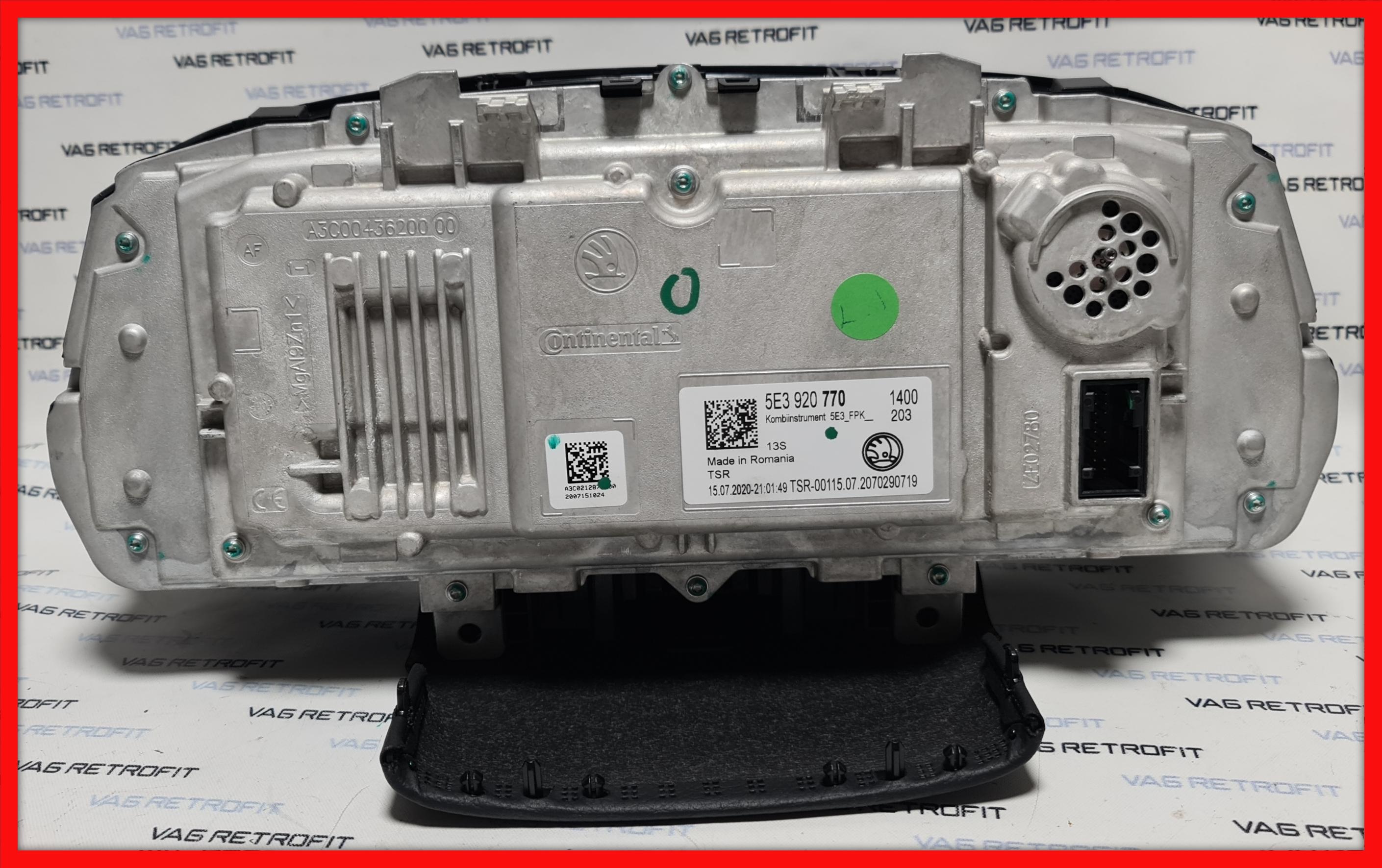 Poza 4 - Ceasuri Digitale Skoda Octavia 4 IV Virtual Cockpit LED Ceasuri Bord