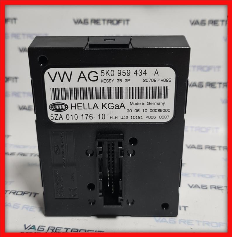 Poza - Modul / Unitate Keyless Go Kessy VW Golf 6 VI 5K0 959 434 A 5K0959434A