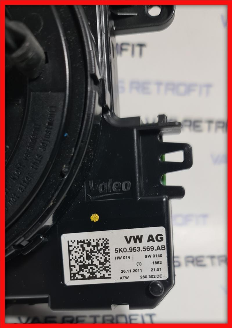 Poza 2 - Calculator Coloana Volan Spira VW Passat B7 CC 5K0953569AB 5K0 953 569AB