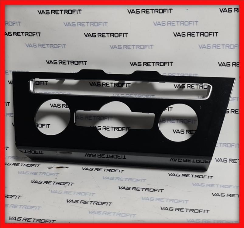 Poza 2 - Trim ornament rama climatronic Piano Black VW Passat B8 3G1863042