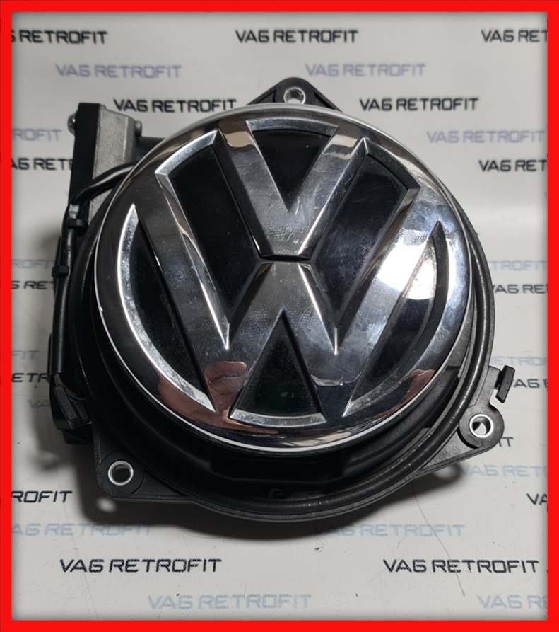 Poza - Camera Spate Marsarier VW Golf 7 VII HIGHLINE Emblema FLIP ORIGINALA