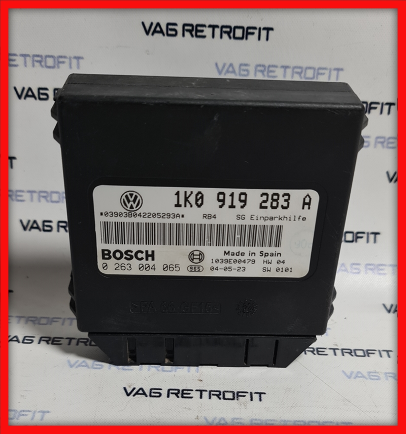 Poza 2 - Modul senzori de parcare VW Golf 5 V Audi 1K0919283A