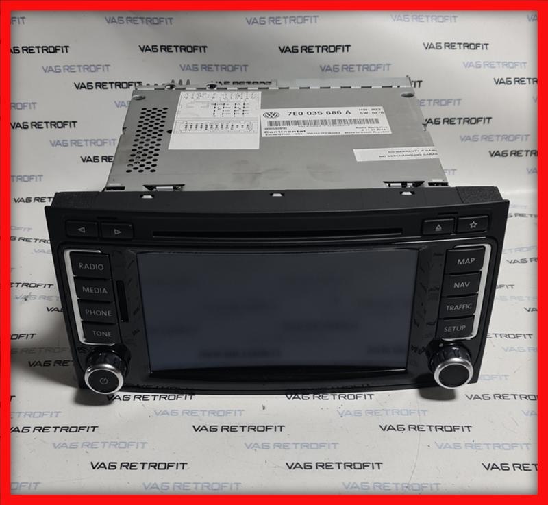 Poza - Navigatie RNS510 MFD3 VW Touareg VW T5 7E0035686A 7E0 035 686 A