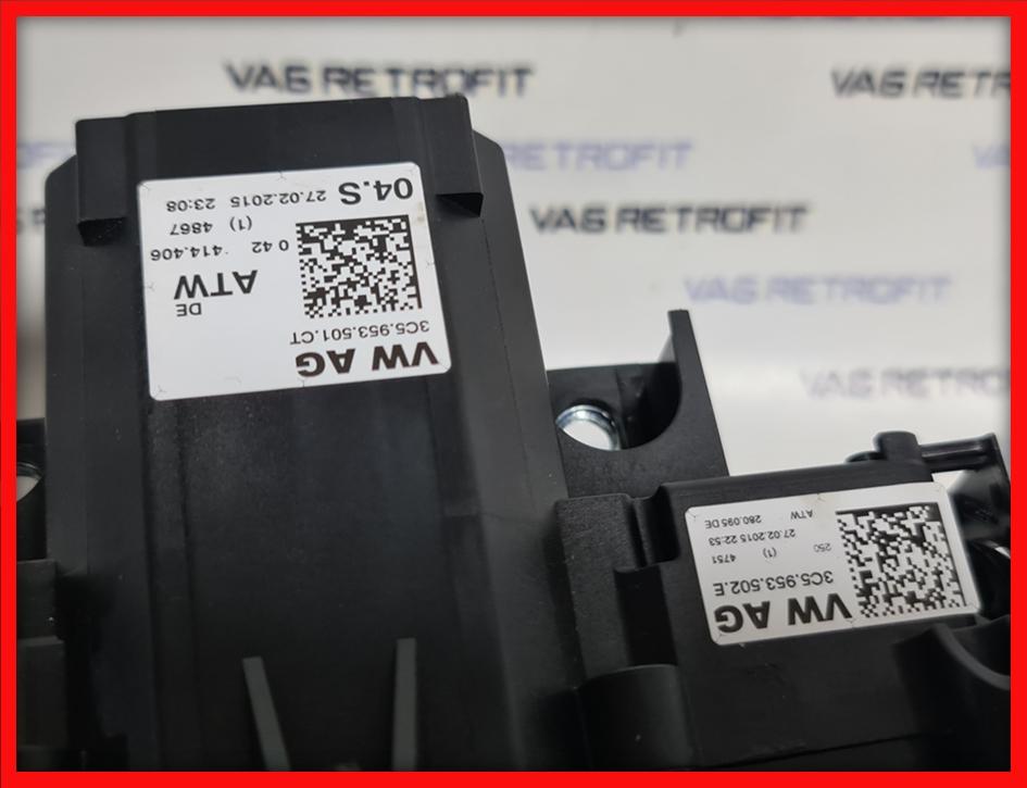 Poza 4 - Ansamblu manete cu tempomat si ACC distronic VW Passat B7 CC 3C5953502E