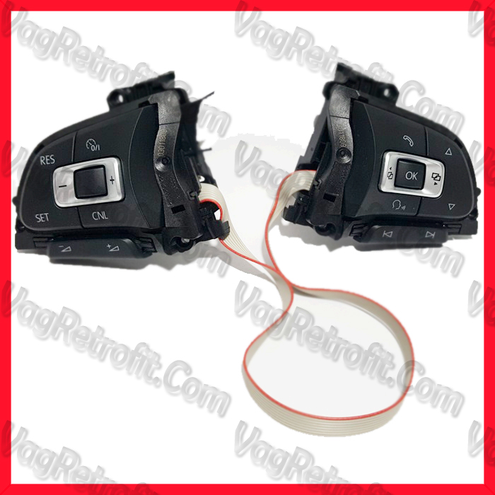 Poza - 7E0959442 / 7E0 959 442 Set Comenzi Volan VW Amarok Transporter T6 Polo Caddy