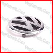 Poza - Emblema W Bara / Grila Radiator VW Golf 6 VI / Golf Plus