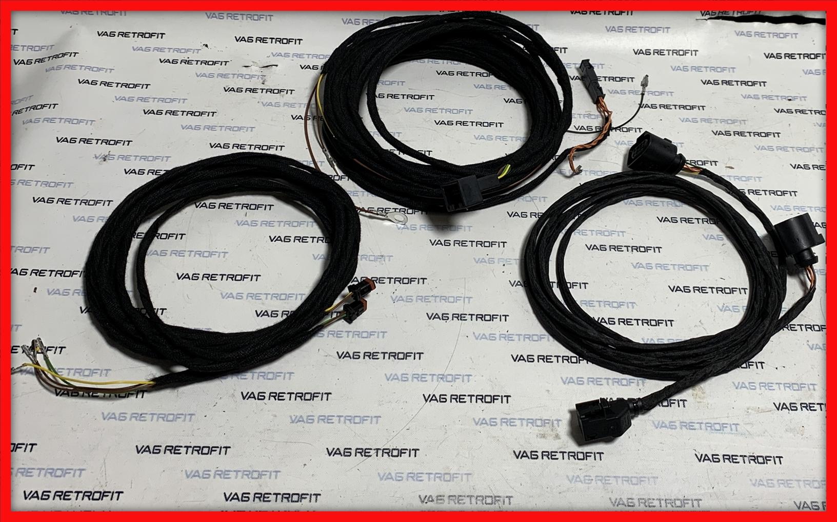 Poza - Cablu / Cablaj Side Assist / Rear Traffic VW Golf 7 VII Passat B8 SKODA SEAT AUDI