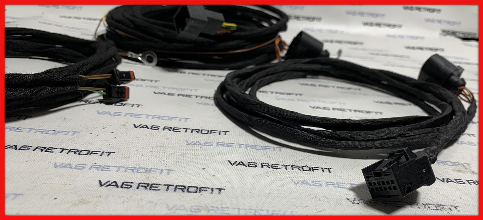 Poza 4 - Cablu / Cablaj Side Assist / Rear Traffic VW Golf 7 VII Passat B8 SKODA SEAT AUDI