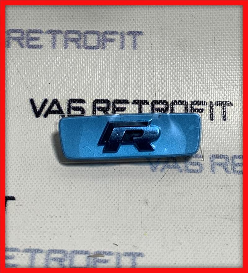Poza - Emblema Volan Logo R VW Golf 7 VII Passat B8 Polo Tiguan