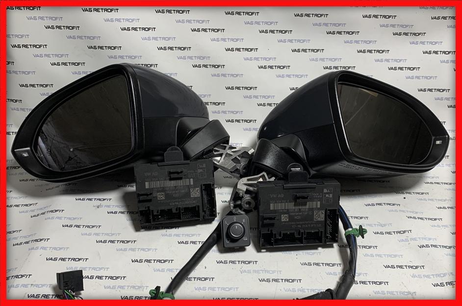 Poza - Oglinzi Cu Camere 360 Area View Rabatabile VW Passat B8 Electrice Incalzite