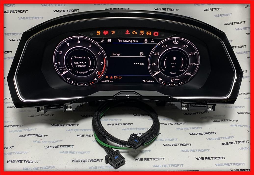 Poza 3 - Ceasuri Digitale VW Arteon Passat B8 3G0920791C Active Info Display AID