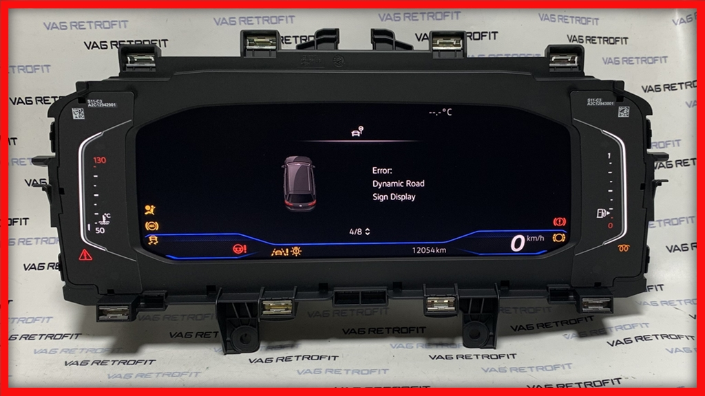 Poza 3 - Ceasuri Digitale Bord Passat B8 5 FACELIFT AID 3G0920320A 3G0 920 320 A