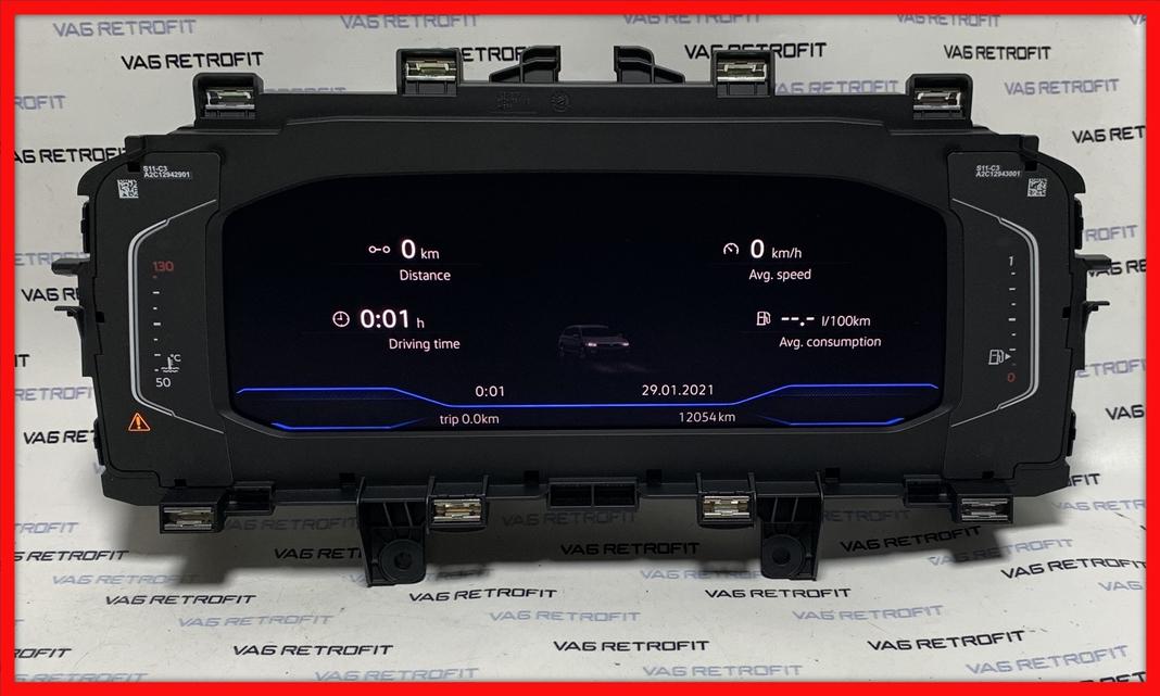 Poza 6 - Ceasuri Digitale Bord Passat B8 5 FACELIFT AID 3G0920320A 3G0 920 320 A