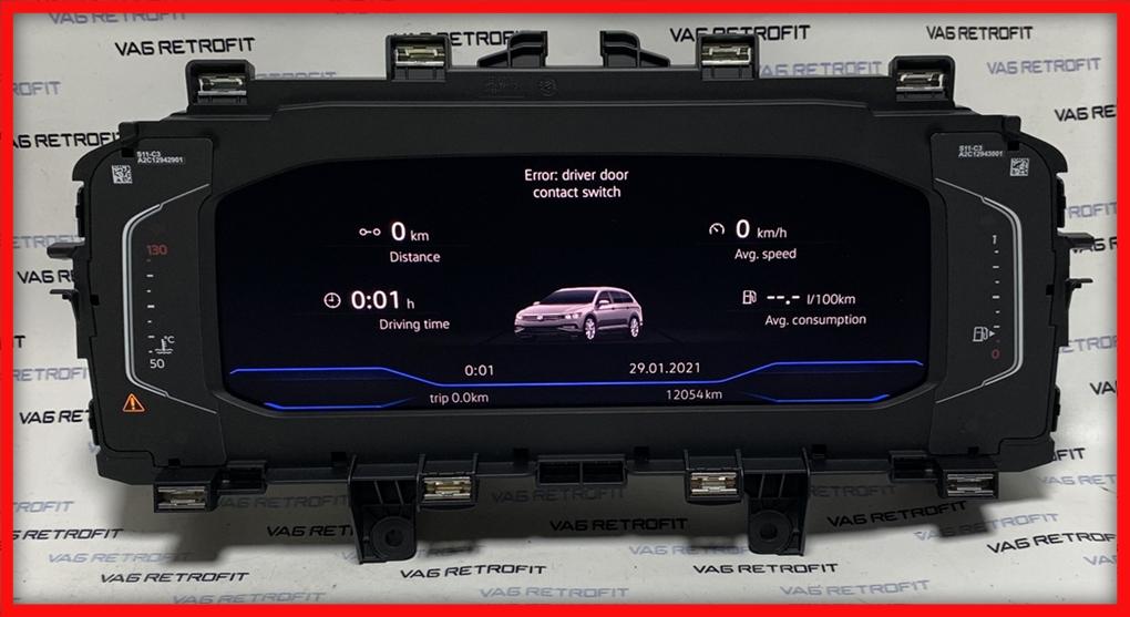 Poza 2 - Ceasuri Digitale Bord Passat B8 5 FACELIFT AID 3G0920320A 3G0 920 320 A