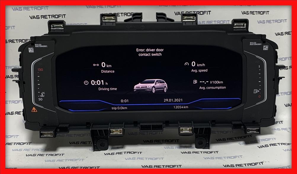 Poza - Ceasuri Digitale Bord Passat B8 5 FACELIFT AID 3G0920320A 3G0 920 320 A
