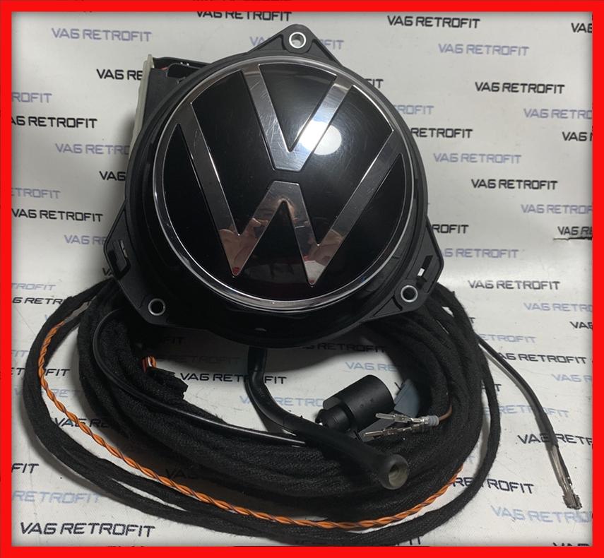 Poza - Camera Spate Marsarier VW Polo 2G Emblema FLIP ORIGINALA 2G0827469G