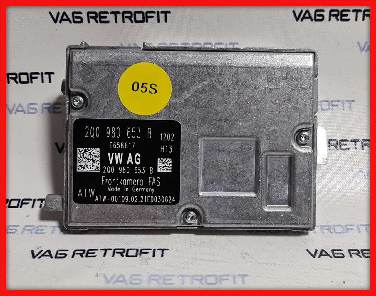 Poza 5 - Camera Video Frontala Parbriz 2Q0980653B 2Q0 980 653 B VW Golf Passat SKODA