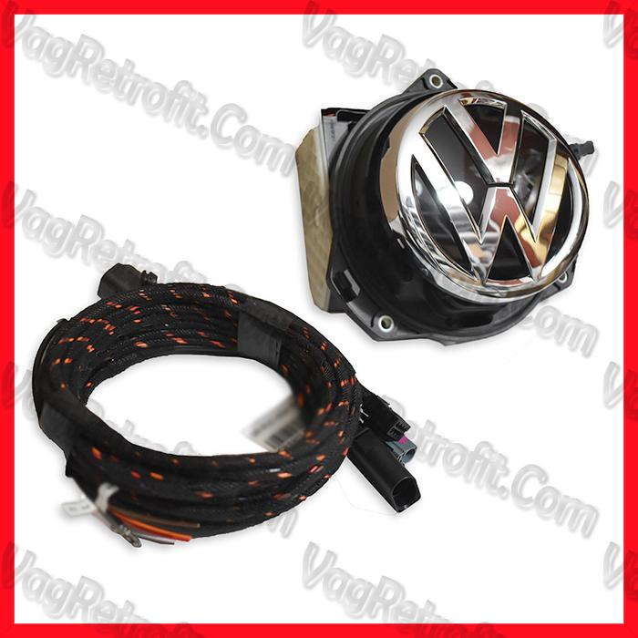 Poza - Camera Video Marsalier Emblema / Sigla ORIGINALA VW Golf 7 VII