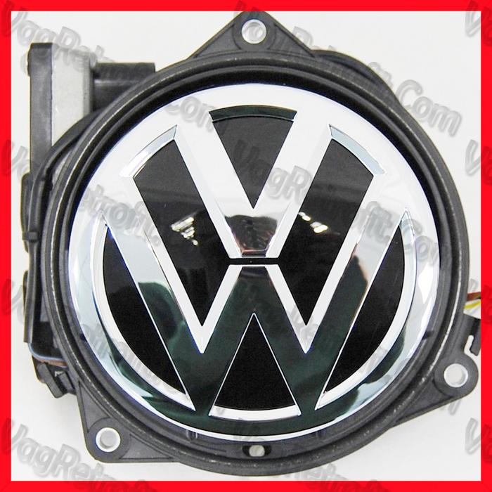 Poza 3 - Camera Video Marsalier Emblema / Sigla ORIGINALA VW Golf 7 VII