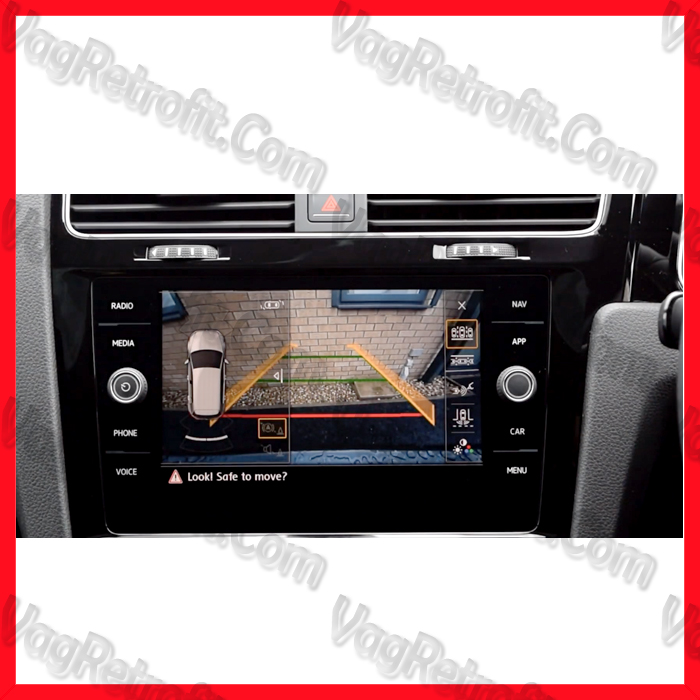 Poza 6 - Camera Video Marsalier Emblema / Sigla ORIGINALA VW Golf 7 VII