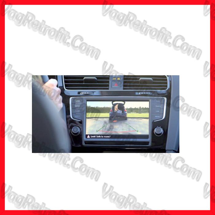 Poza 7 - Camera Video Marsalier Emblema / Sigla ORIGINALA VW Golf 7 VII