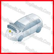 Poza 4 - Capitonaj De Capota / Insonorizant Capota Pasla Motor VW Touran Caddy