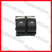 Poza - Panou Consola 2 Butoane Geamuri Electrice Chrome Audi A4 B6 B7