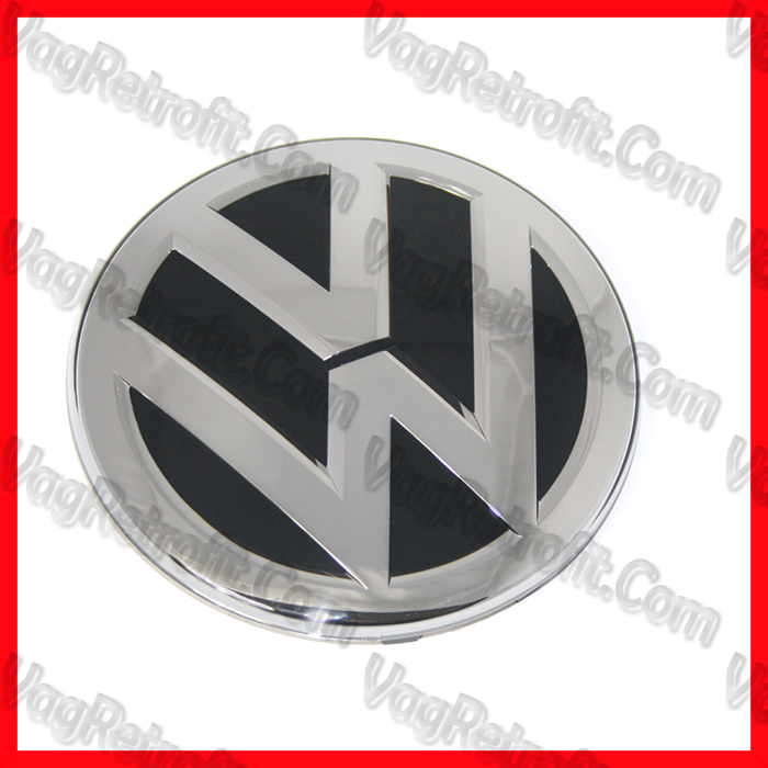 Poza - Emblema VW Bara / Grila Radiator Passat B8 3G Golf 7 VII Facelift Arteon Jetta