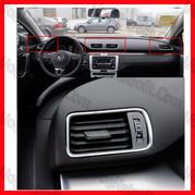 Poza 5 - Grile Aerisire Ventilatie Bord VW Passat B6 CC B7 LED CHROME Model NOU