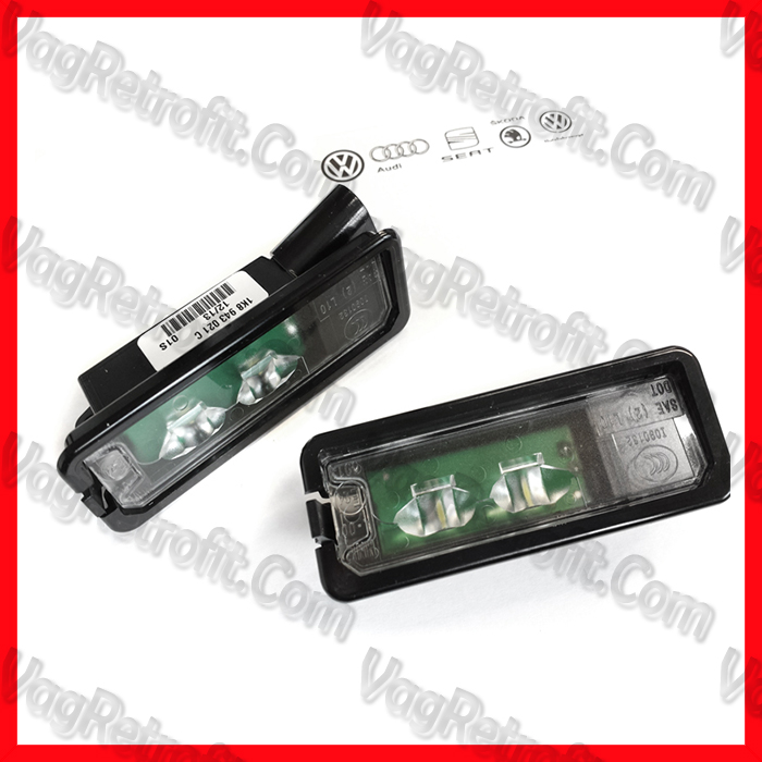 Poza - Set Lampi LED VW Golf 5 6 7 VII Passat Polo T Roc Lampi Numar Inmatriculare LED