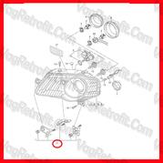 Poza 3 - Set Reparatie Cleme Far Stanga VW Passat B6 3C