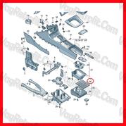 Poza - Rulou Consola Centrala Passat B6 3C