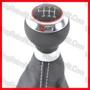 Poza - Schimbator Viteze Piele Original Audi S3 A3 8P