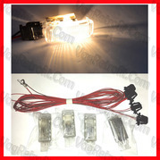 Poza - Set 4 Lampi lumini picioare Footwell Lights Set complet Retrofit lampi + mufe + cablaj