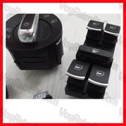 Poza 7 - Set Butoane Geamuri electrice VW Passat B6, CC, B7, Golf 5, Golf 6, Jetta, Eos